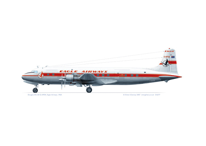 Douglas DC-6A Eagle Airways 1960