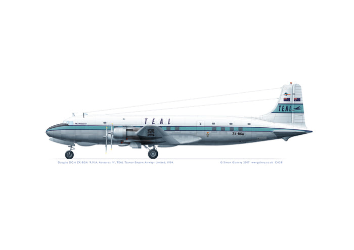 Douglas DC-6 TEAL Tasman Empire Airways Ltd