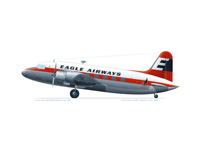 Vickers Viking 1B Eagle Airways 1960