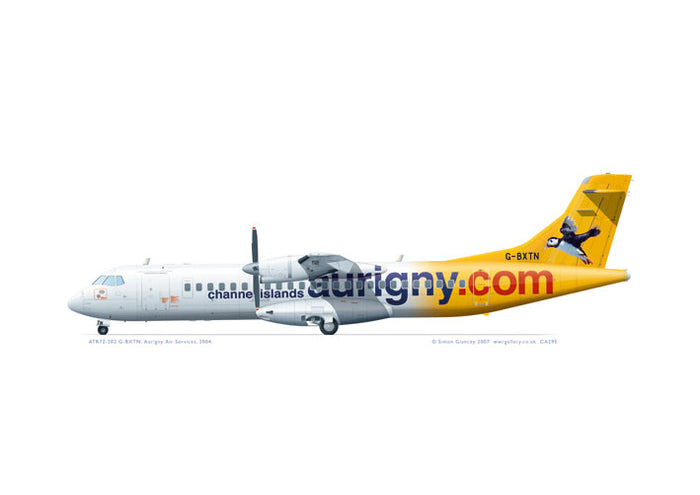 ATR72-202 Aurigny Air Services