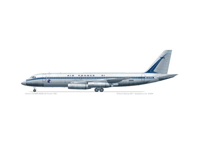Convair CV-990A Air France