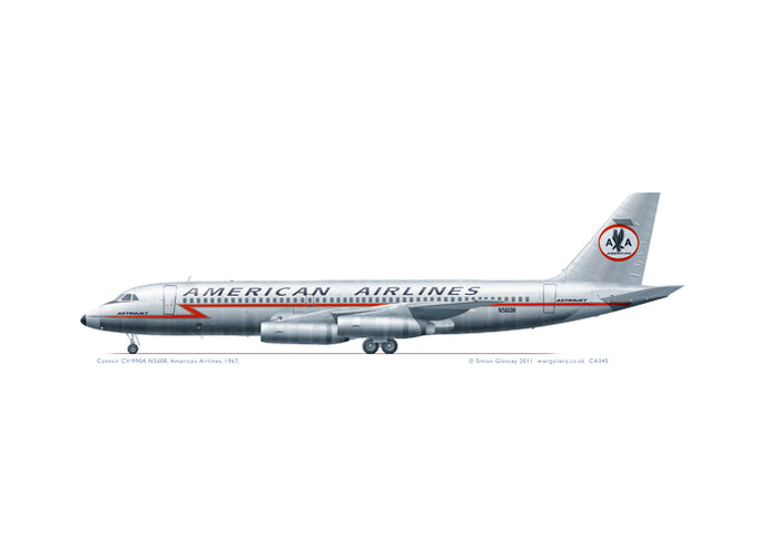 Convair CV-990A American Airlines
