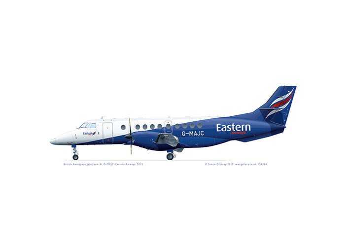 Jetstream 41 Eastern Airways