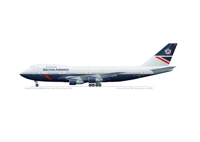 Boeing 747-100 British Airways 'Landor'