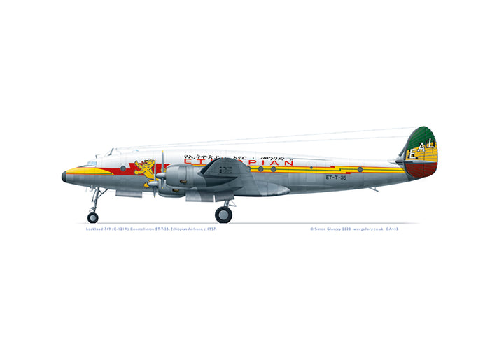 Lockheed L-749 (C-121A) Constellation Ethiopian Airlines