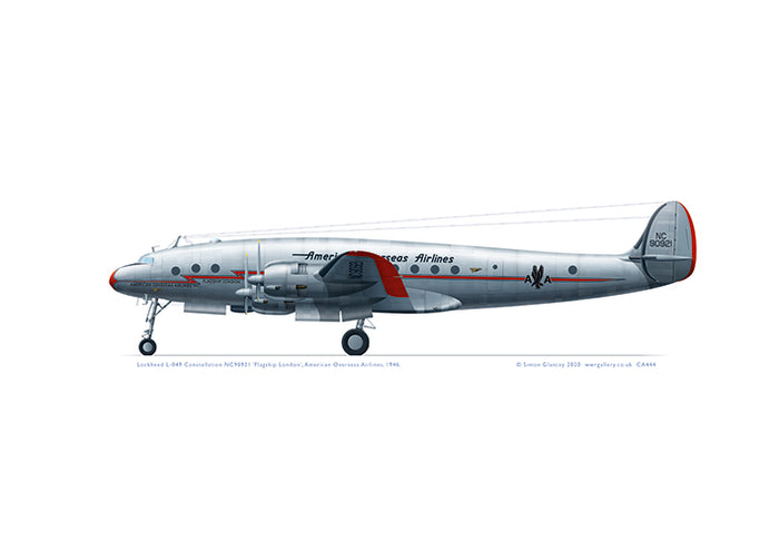 Lockheed L-049 Constellation AOA American Overseas Airlines