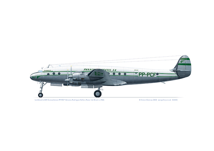 Lockheed L-049 Constellation Panair 1962