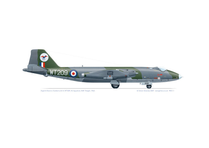 English Electric Canberra B.15 WT209 45 Sqn