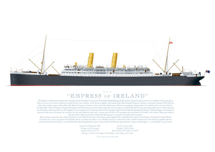 R.M.S. Empress of Ireland (1906)