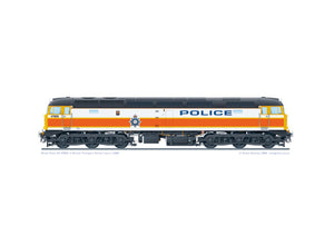 Class 47 47829 British Transport Police