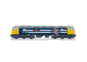 Class 47 47583 'County of Hertfordshire' Royal Wedding livery