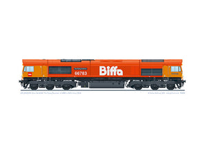 Class 66783 'The Flying Dustman' GBRf Biffa