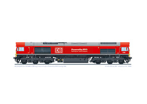 Class 66 66085 DB Cargo 'Powered by HVO'