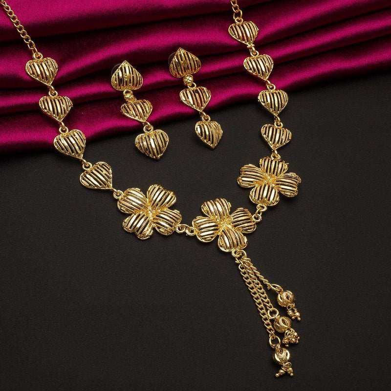 AFW Delight Elegent Necklace Set - ayaanadivine.