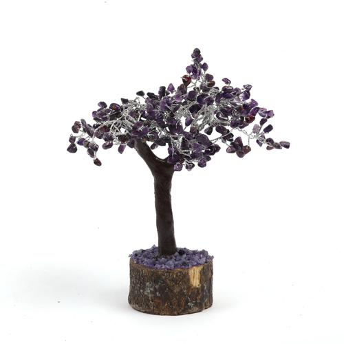 Amethyst Tree with 200 Beads - ayaanadivine.