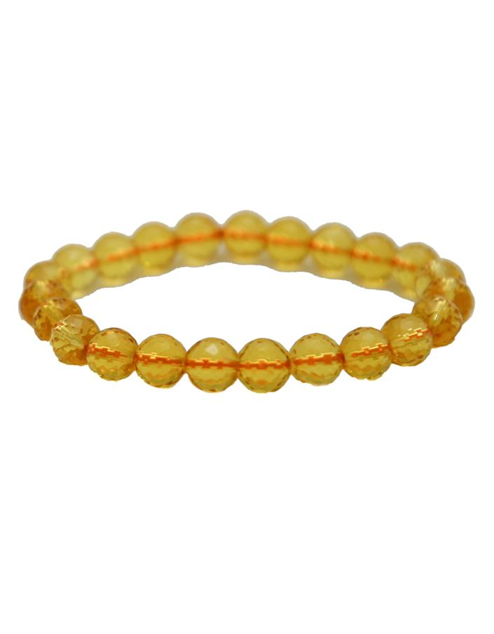 Citrine Faceted Bracelet - ayaanadivine.
