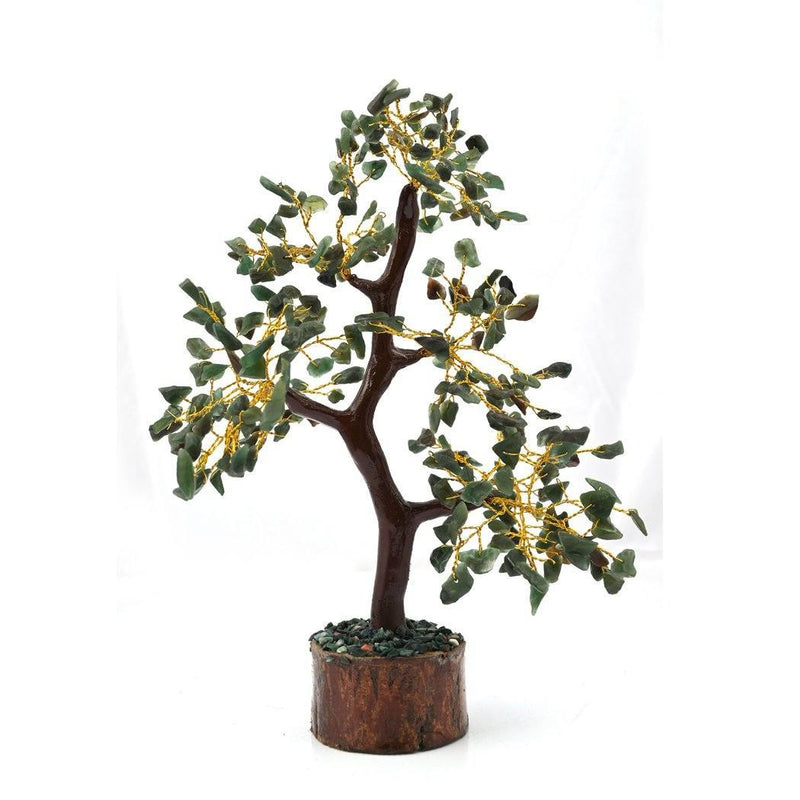 Green Aventurine Tree With 300 Beads - ayaanadivine.