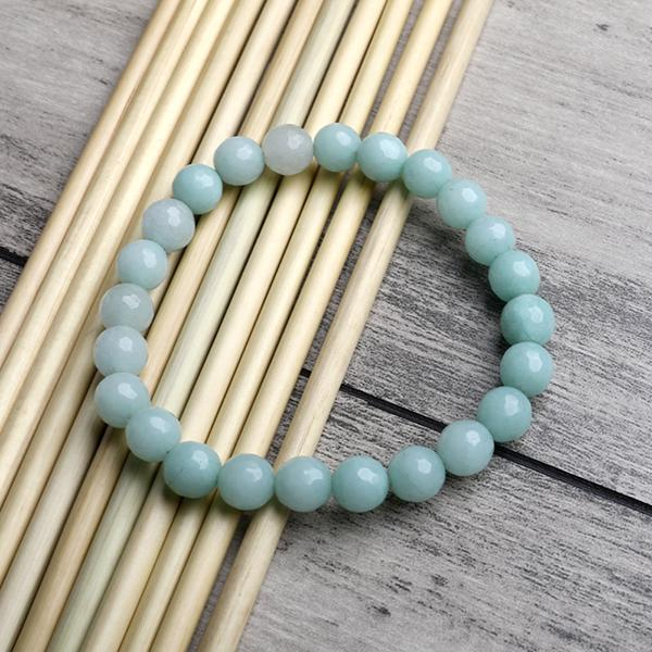 Green Onyx Faceted Bracelet - ayaanadivine.