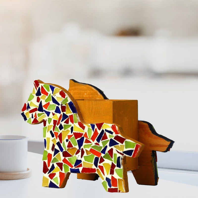 Horse Shaped Pen Stand - ayaanadivine.