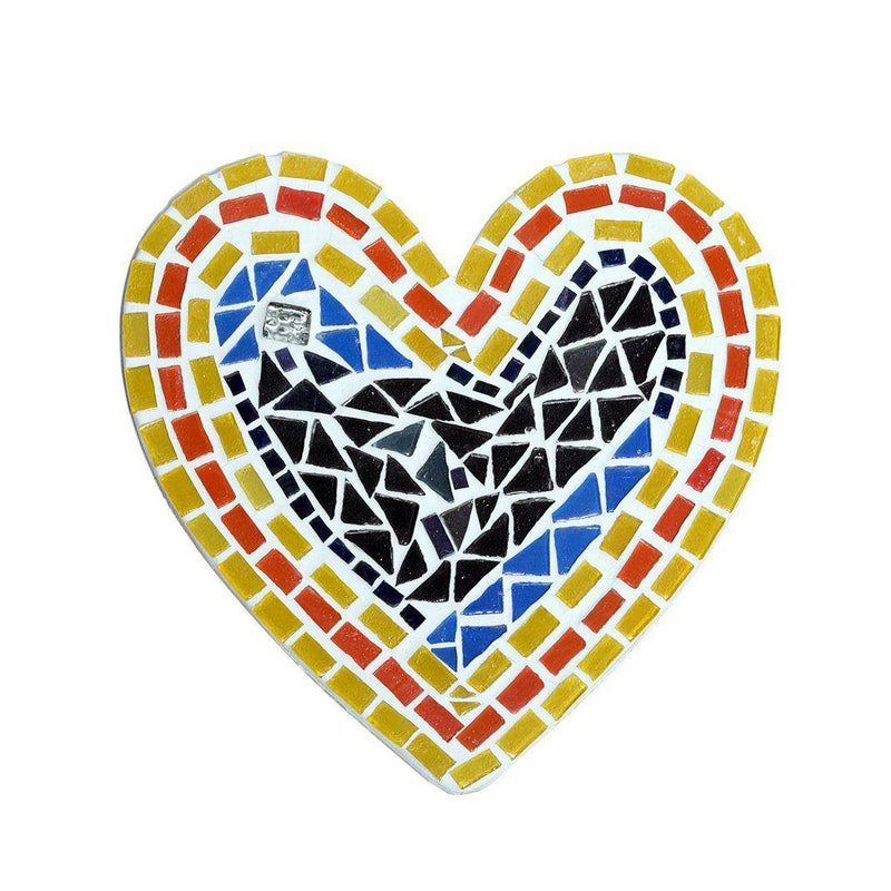Multi Color Heart Shaped Show Piece - ayaanadivine.