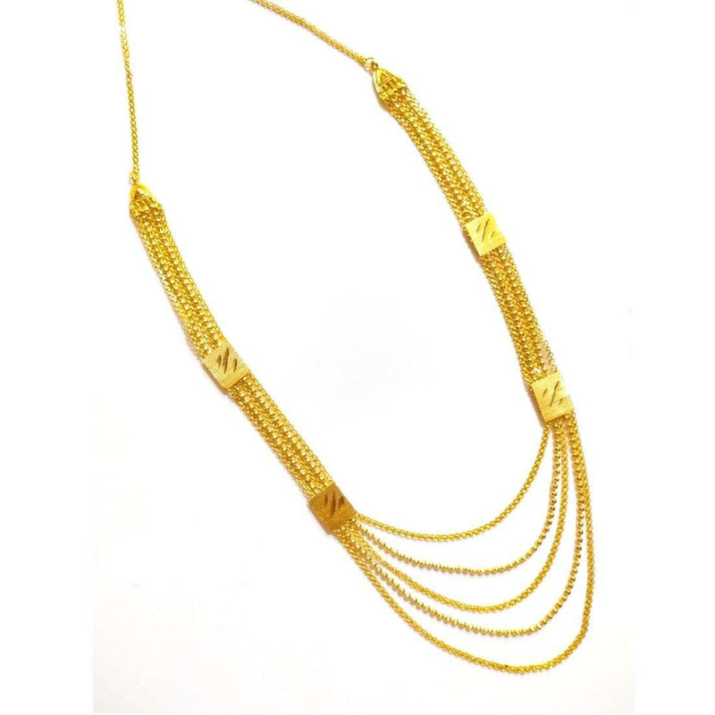 Multi- Layered Necklace (N) Mala Ayaana Fashion World