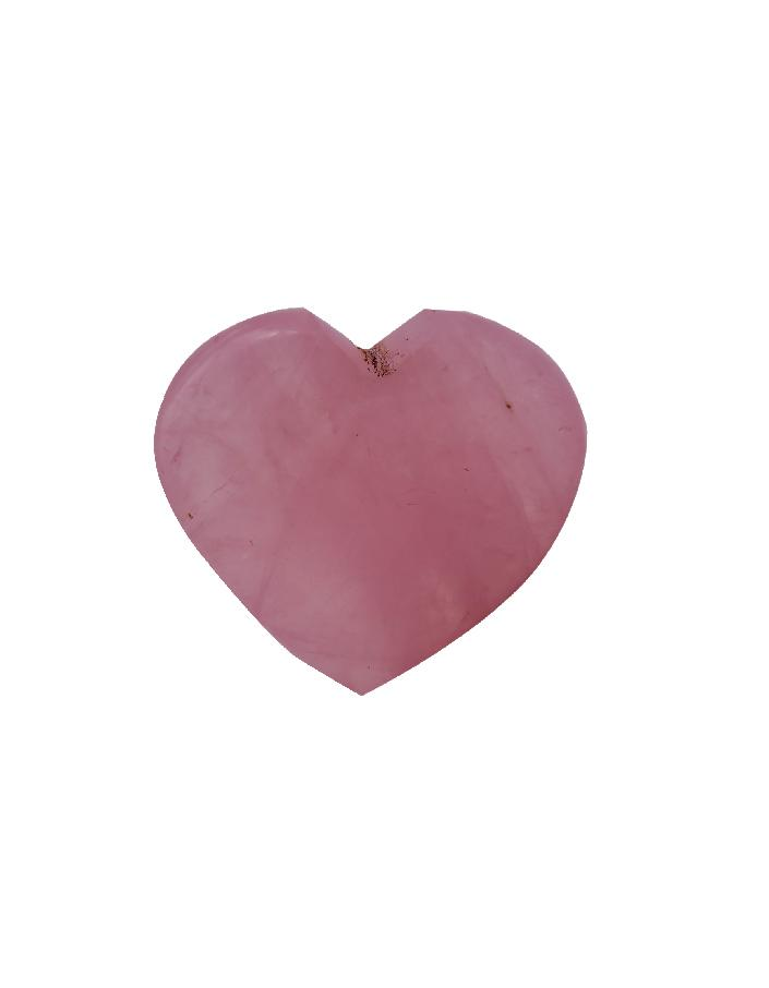 Rose Quartz Heart - ayaanadivine.