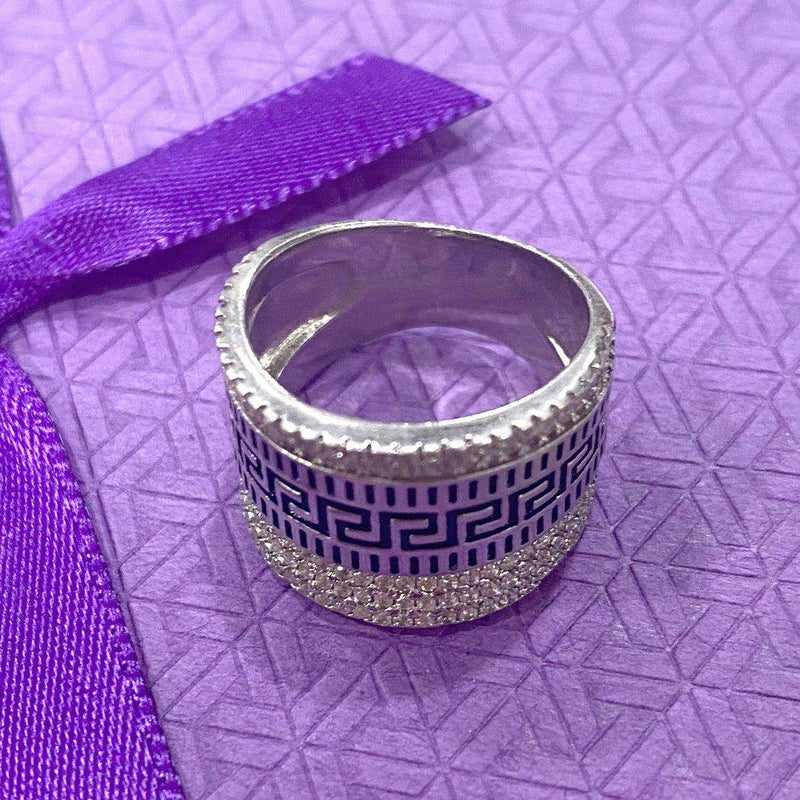 Sparkling Thumb Ring (sterling Silver) - ayaanadivine.
