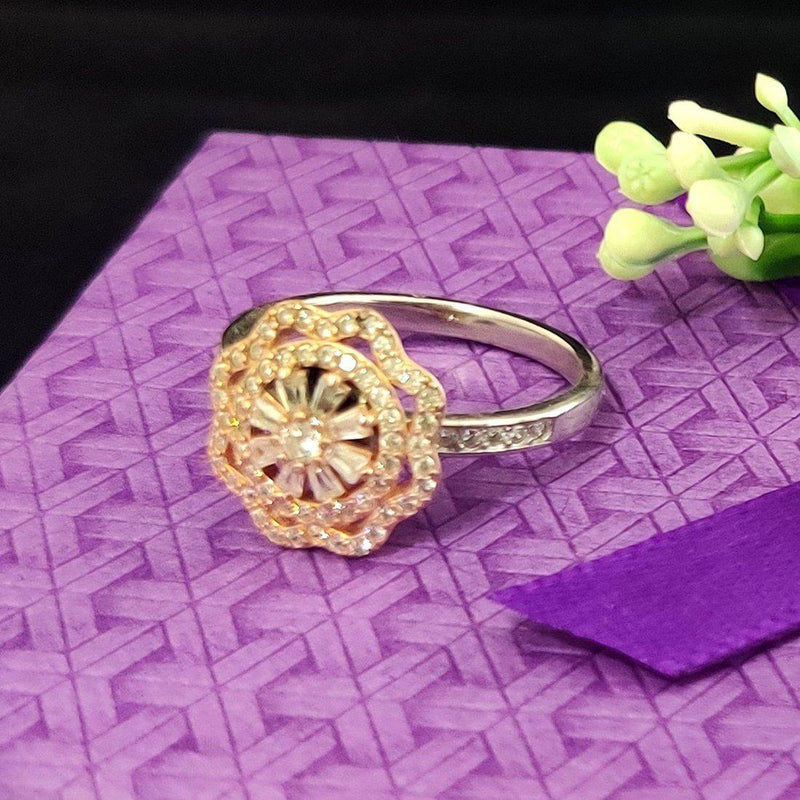 The Ultimate Floral Silver Ring - ayaanadivine.