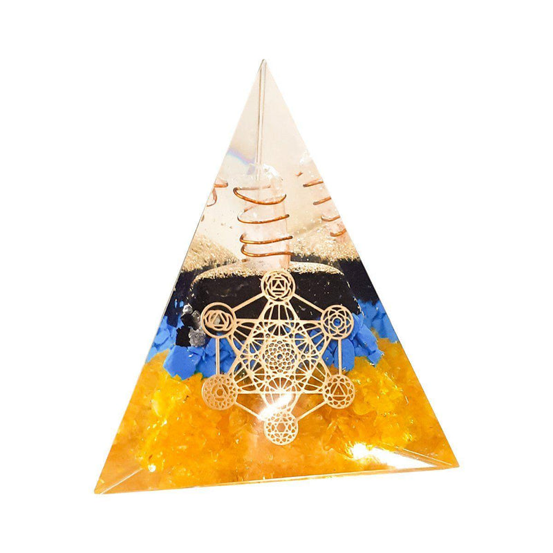 Three Layer Orgone  Pyramid - ayaanadivine.