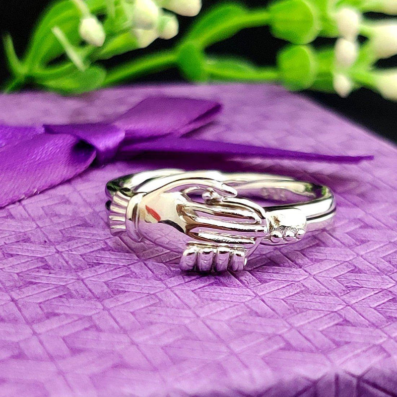 Togetherness Sterling Silver Ring - ayaanadivine.