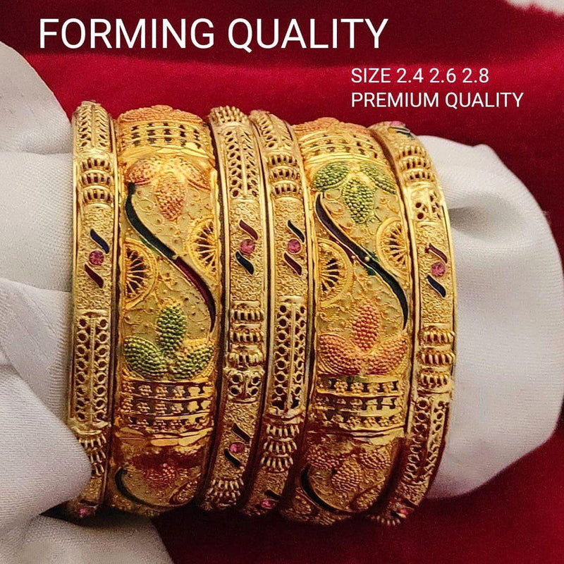 Triplicity Bangle Set (P) - ayaanadivine.