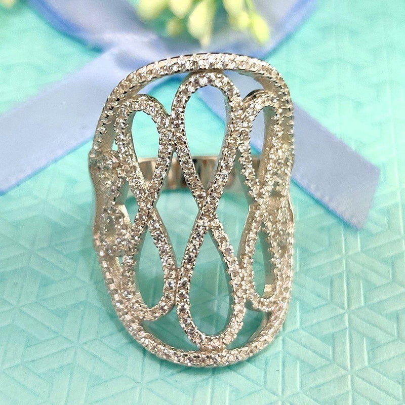 Ultimate Infinity Sterling Silver Ring - ayaanadivine.