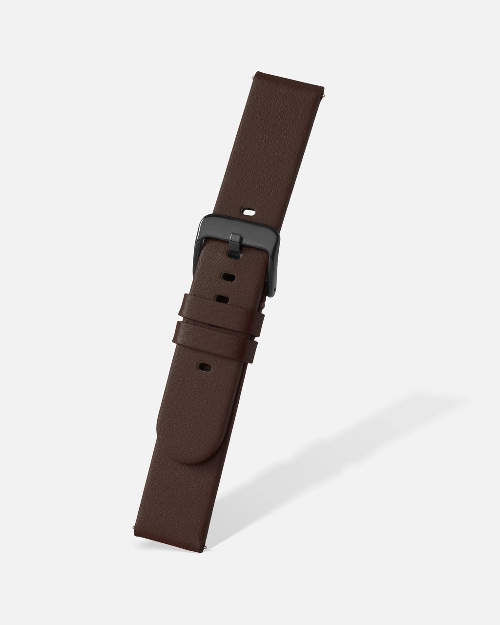 Brown Smooth Appleskin Watch Band