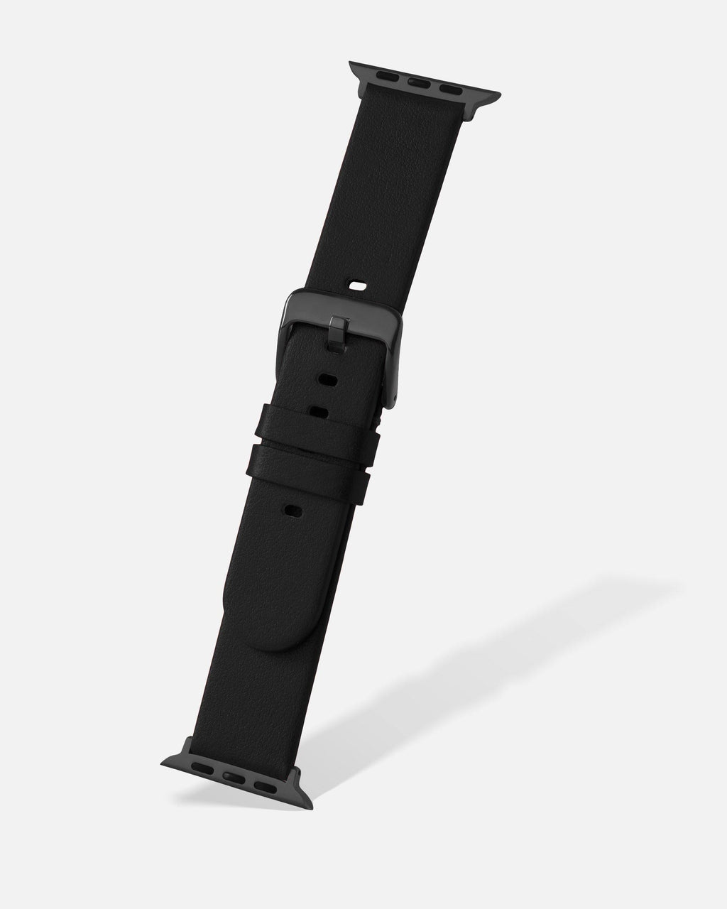 Black Smooth Appleskin Apple Watch Band