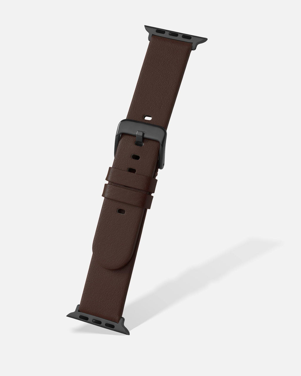 Brown Smooth Appleskin Apple Watch Band
