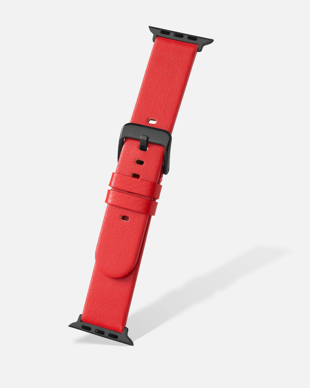 Red Smooth Appleskin Apple Watch Band