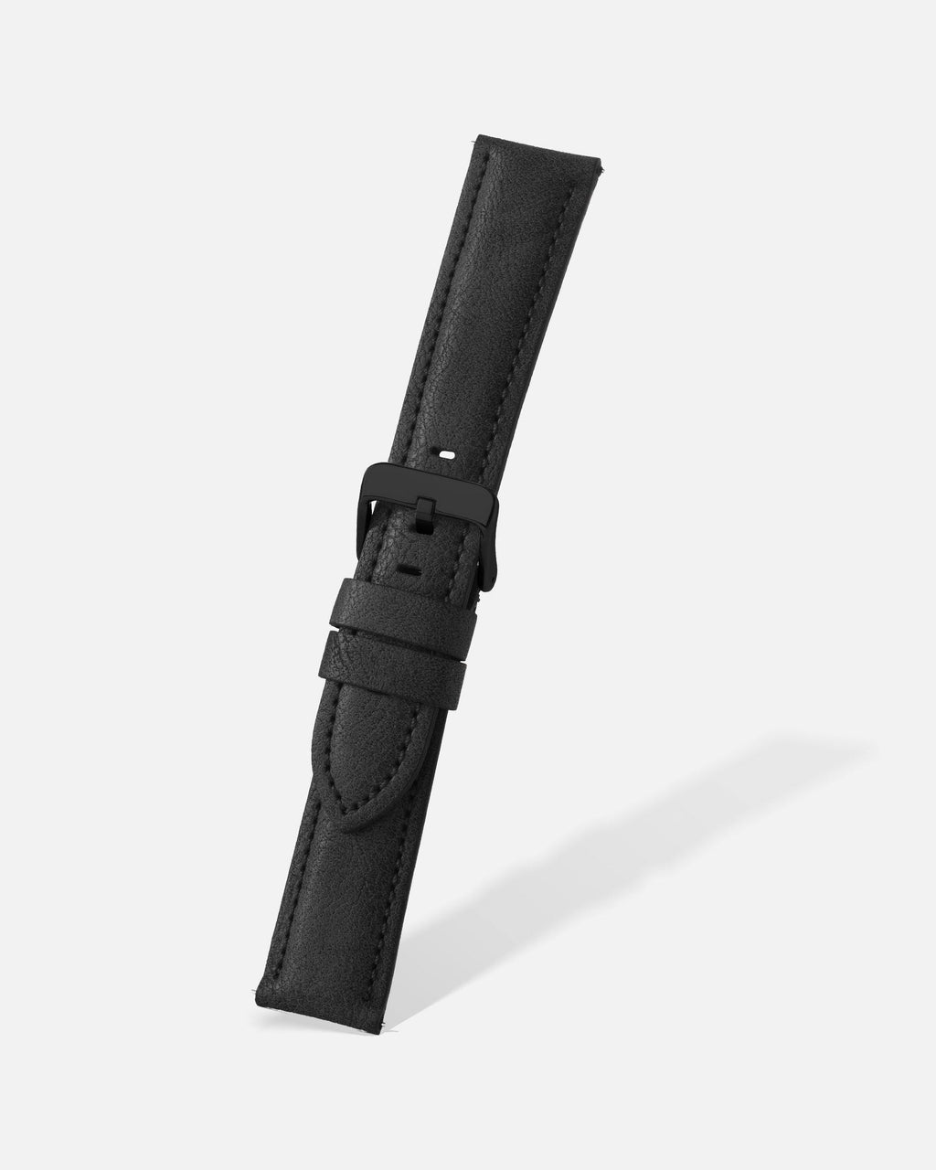 Black Vintage Microfiber Watch Band