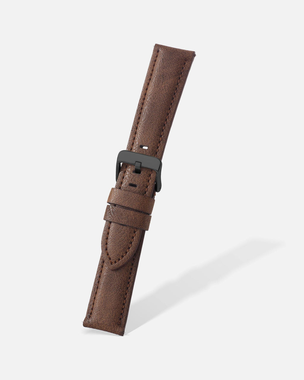 Brown Vintage Microfiber Watch Band