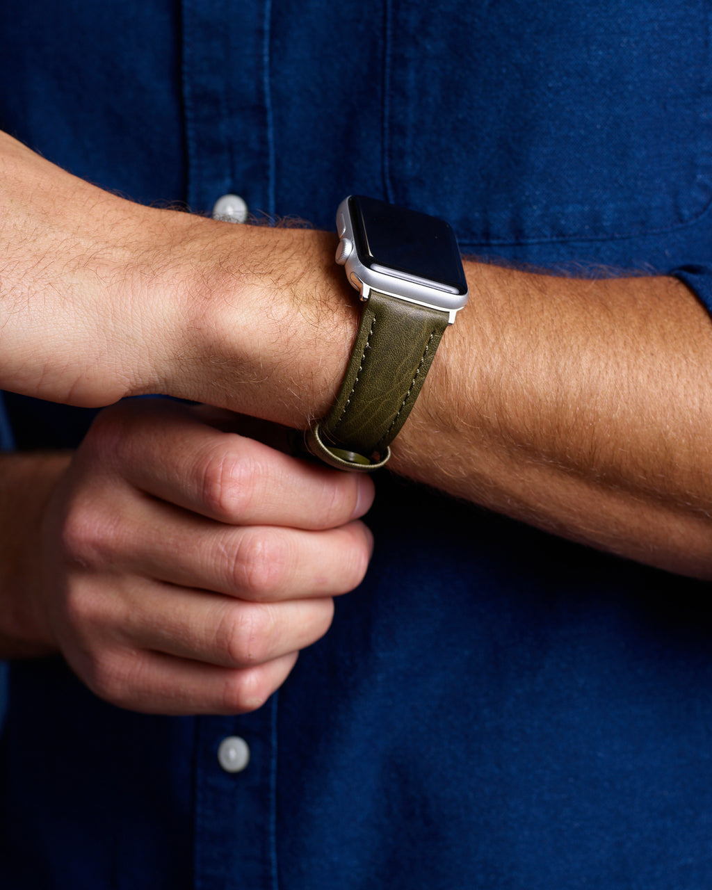 Bison Grain Leather | Apple Watch Compatible 38mm/40mm