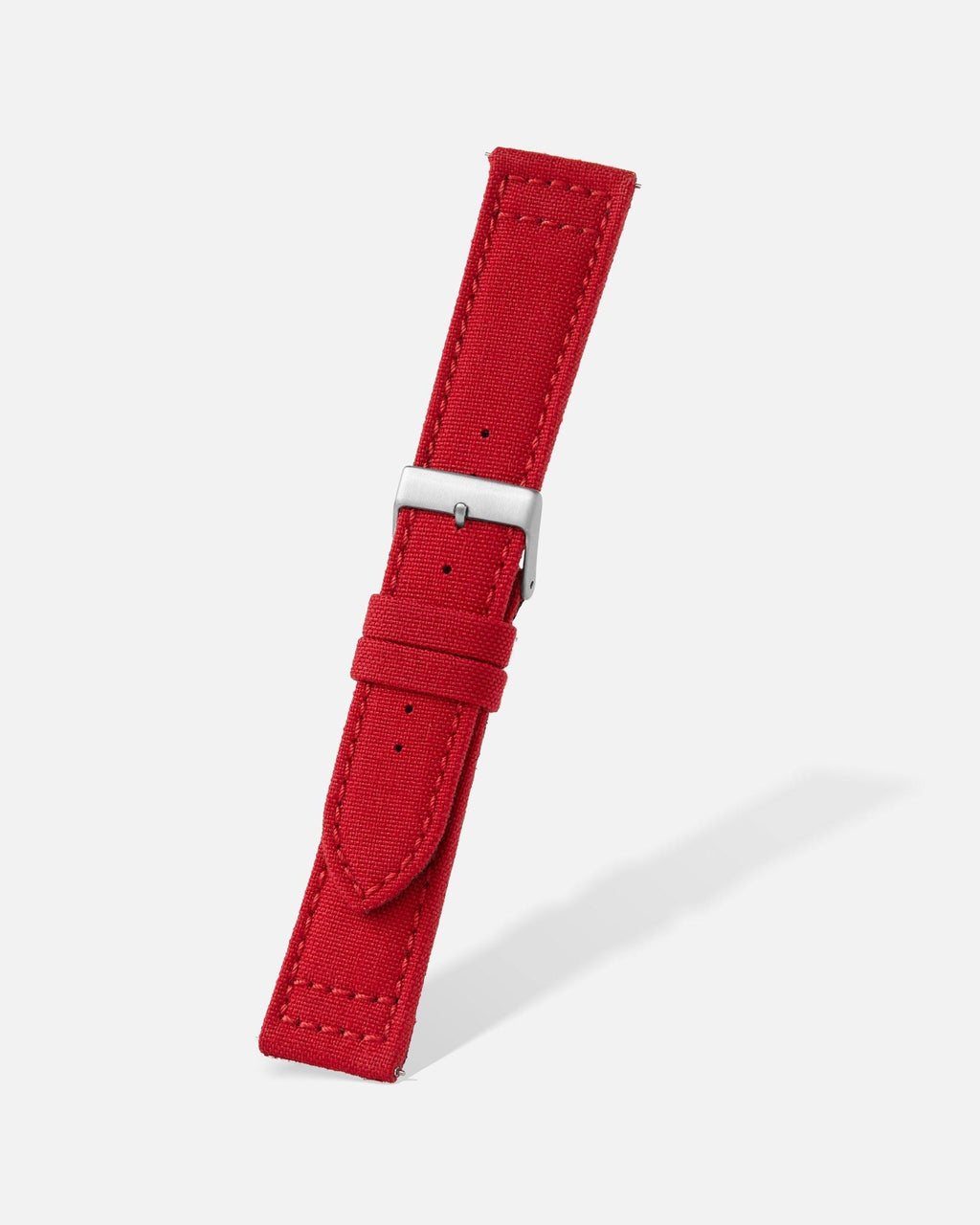 Red Cordura Watch Band