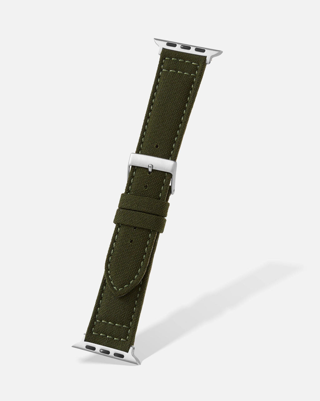 Olive Green Cordura Apple Watch Band