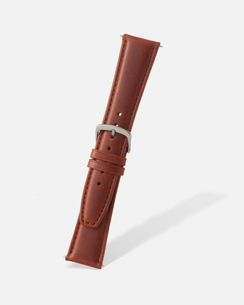 Chestnut Genuine Oil Tan Leather Watch Band