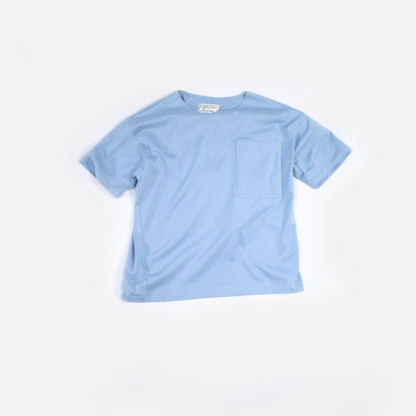 Classic Tianzhu Pocket T-Shirt - Light Gray