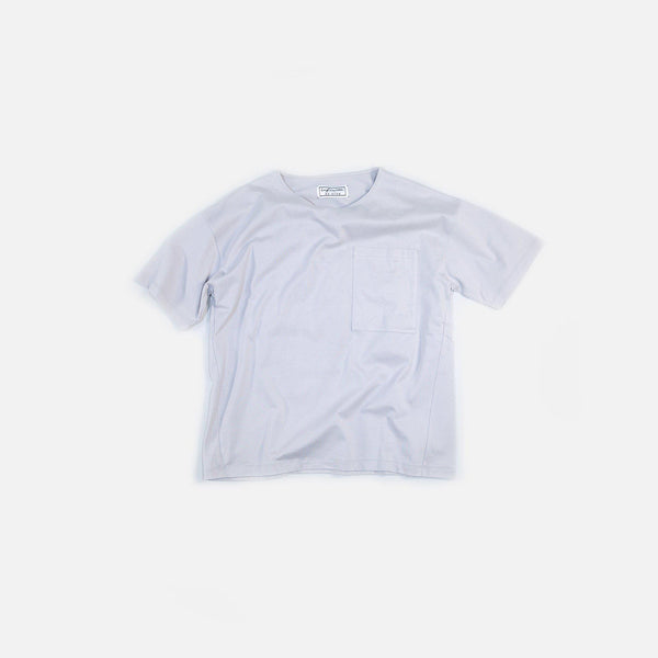 クラシック天竺 T(ポケット付)Classic Tianzhu Pocket T-Shirt - Light Gray