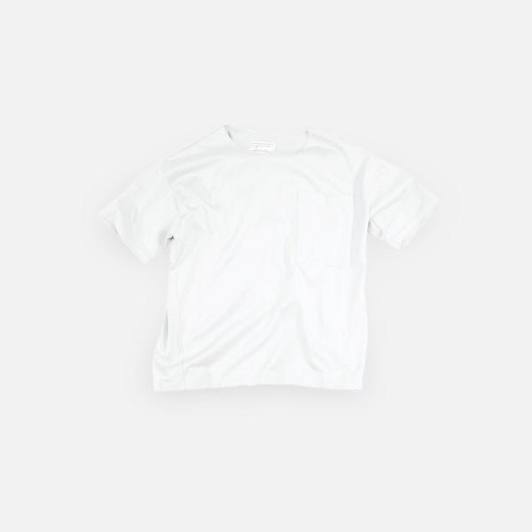 クラシック天竺 T(ポケット付)Classic Tianzhu Pocket T-Shirt - White