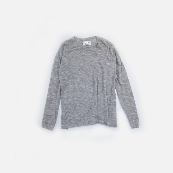 ウールガーゼ天竺 Wool Gauze Tianzhu Long Sleeved T-Shirt