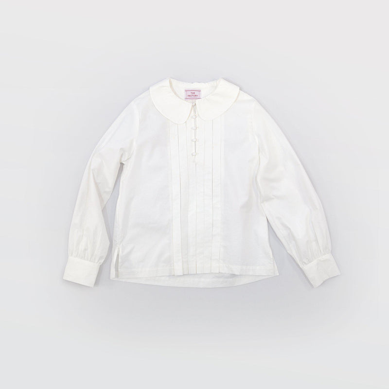 タイプライター Typewriter Round Collar Blouse