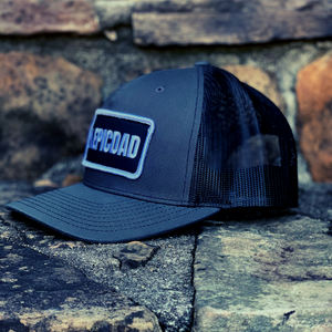 The Epic Dad Co. I Grey & Black Snapback