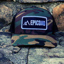Load image into Gallery viewer, The Epic Dad Co. I BDU Camo Snapback