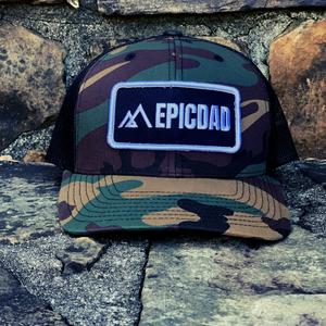 The Epic Dad Co. I BDU Camo Snapback